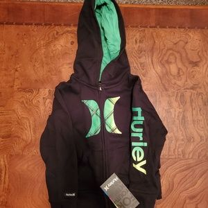 24mo/2T Hurley zip up hoodie